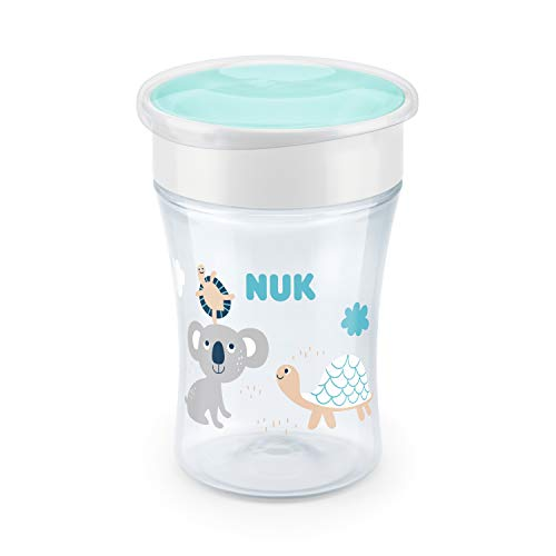 NUK Magic Trinklernbecher, 360° Trinkrand, 230ml, Design und Farbe nicht frei wählbar