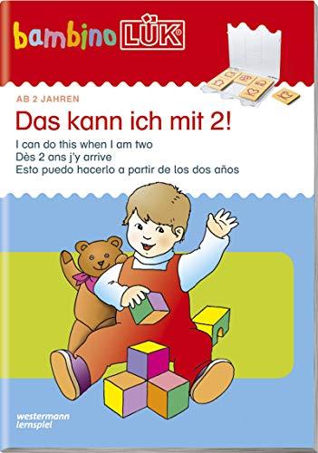 bambinoLÜK-Übungshefte: bambinoLÜK: 2 Jahre: Das kann ich mit 2!: Brainteasers for Kids 2 / Casse-tetes pur enfants 2 / Recompecabzas para ninos 2 (bambinoLÜK-Übungshefte: Kindergarten)
