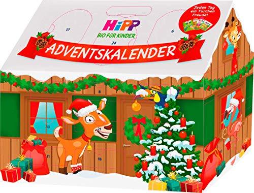 Hipp Baby Adventskalender 2020 -Bio- 24 leckereien Mädchen & Jungs ab 1 Jahr, Advent Kalender, Baybanahrung Weihnachtskalender für Jungs & Mädels