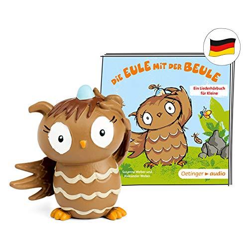 tonies Hörfiguren für Toniebox: Die Eule MIT DER BEULE - Hörbuch und Lieder für Kinder Figur - ca 34 Min. Spieldauer - ab 3 Jahre - DEUTSCH
