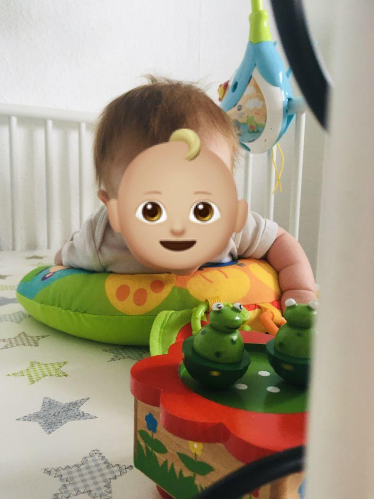 Tanzende Frösche fürs baby