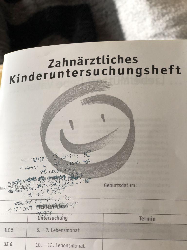 Kinderuntersuchungsheft