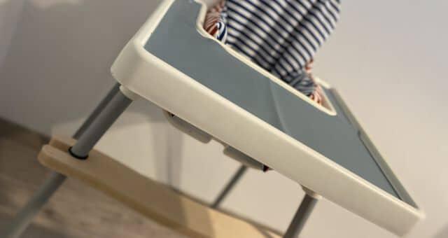 Ikea Antilop Hochstuhl mit Fußstütze